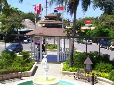 Parque las banderas Pavillon
