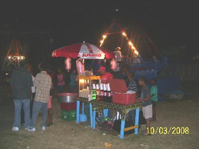 Getränkestand Sosua März 2008