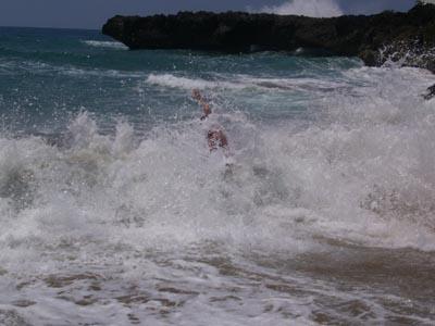 Playa Chiquita Wellen