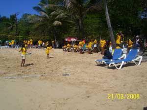 Semana Santa 2008 Hula Hup am Stand
