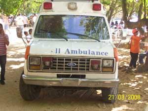 Semana Santa 2008 Krankenwagen